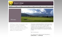 Webdesign - Basset Cottage, B&B in Perthshire